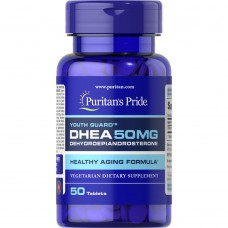DHEA 50 mg Puritans Pride (50 табл)