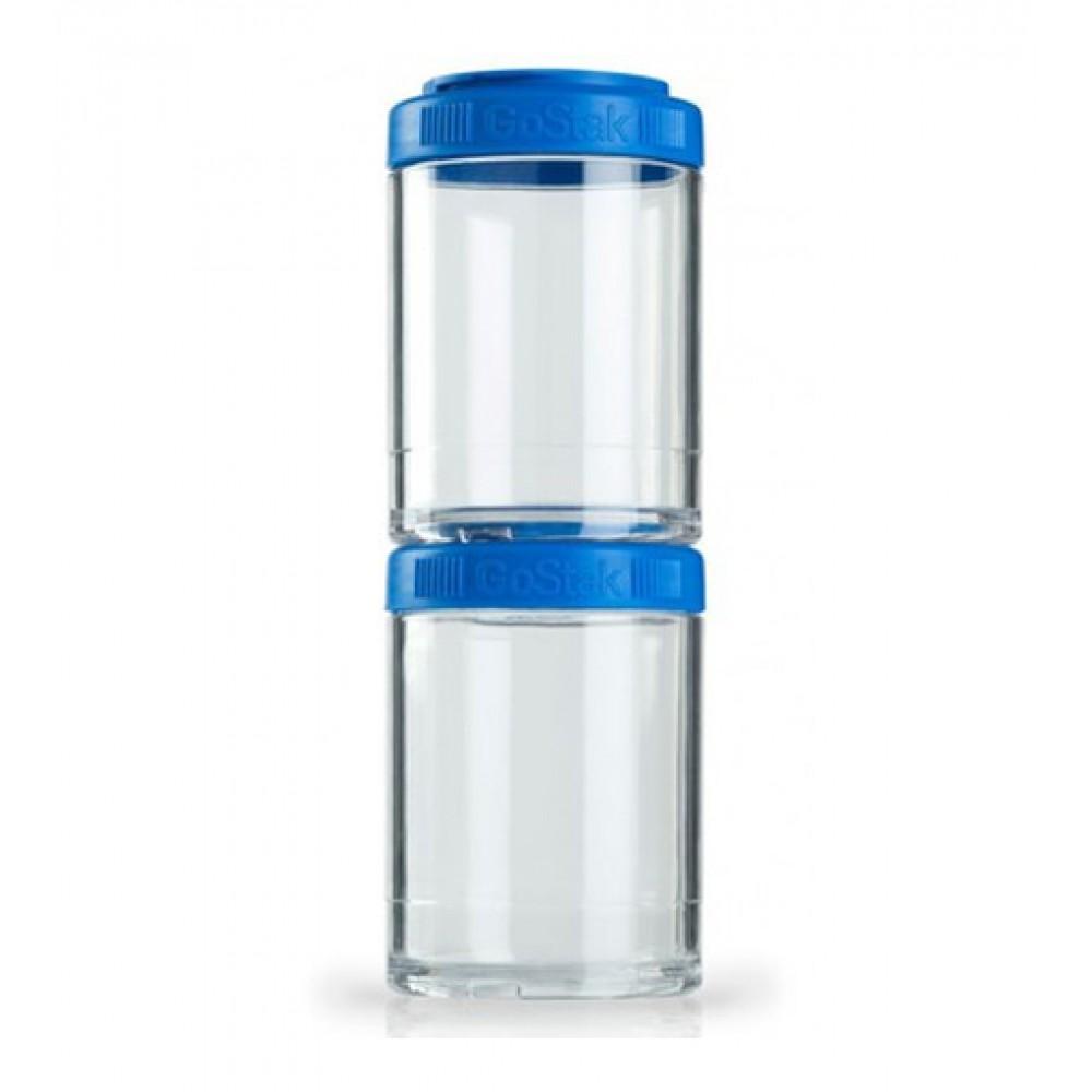 Контейнеры GoStak 2 Pak Blender Bottle синие (2 x 150 мл)