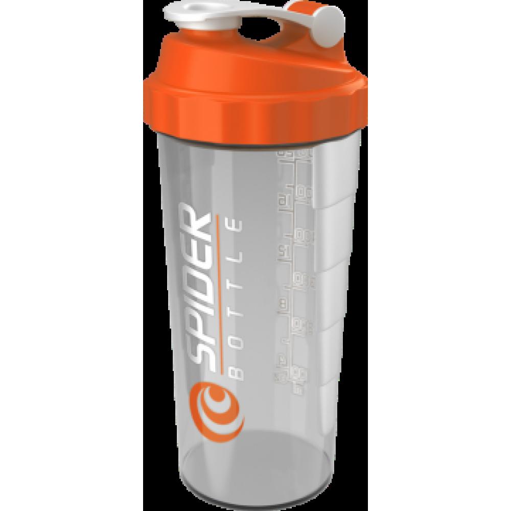 Spider Bottle MAXI Clear/Orange Spider Bottle (800 мл)
