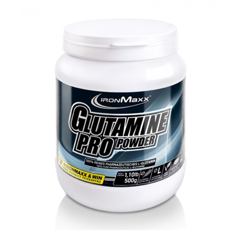 Glutamin Pro Powder IronMaxx (500 гр)