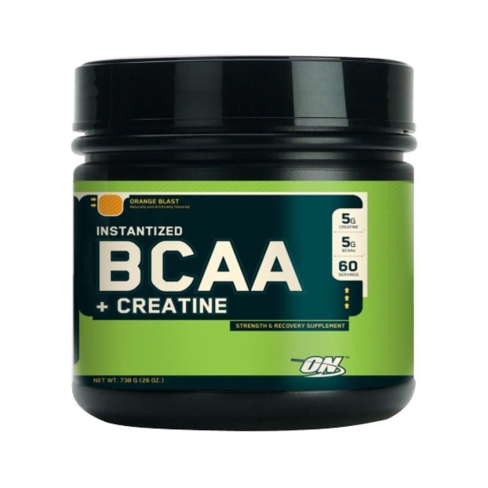 BCAA + Creatine Powder Optimum Nutrition (738 гр)