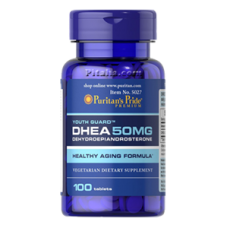 DHEA 50 mg Puritans Pride (100 табл.)