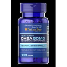 DHEA 50 mg Puritans Pride (100 табл.)