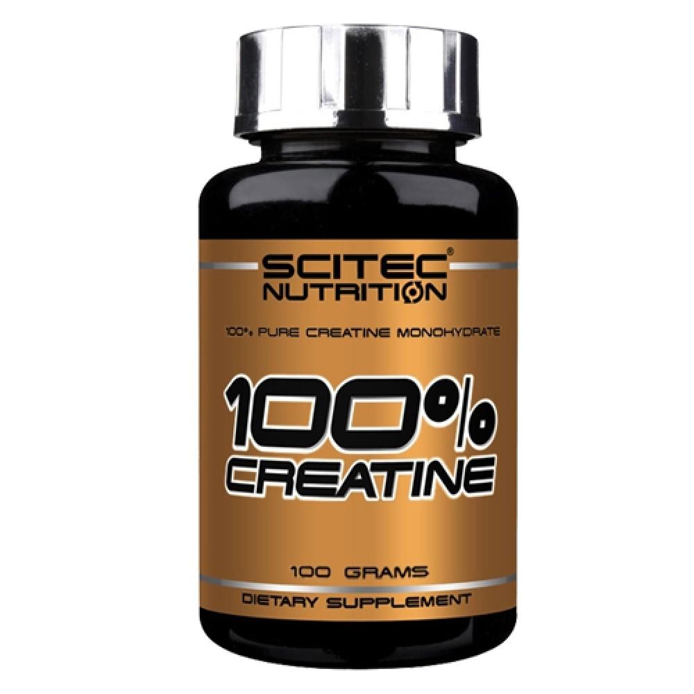 100% Creatine Scitec Nutrition (100 гр)
