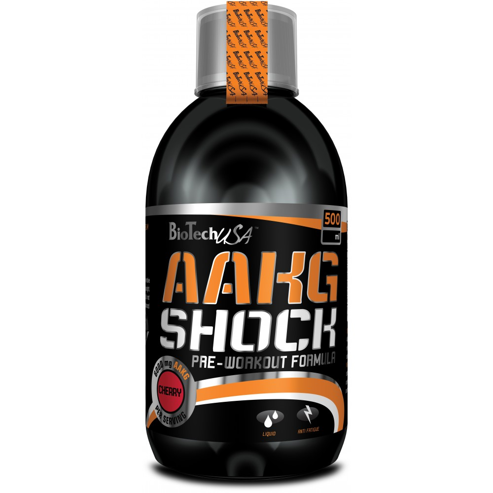 Аминокислоты AAKG Shock BioTech USA (500 мл.)