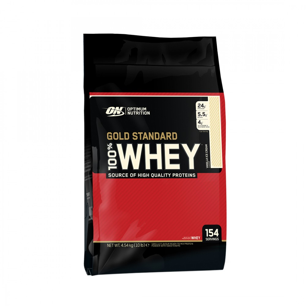 100% Whey Gold Standard Optimum Nutrition (4545 гр)