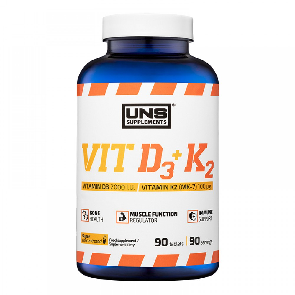 VIT D3 K2 MK7 UNS Supplements (90 табл)