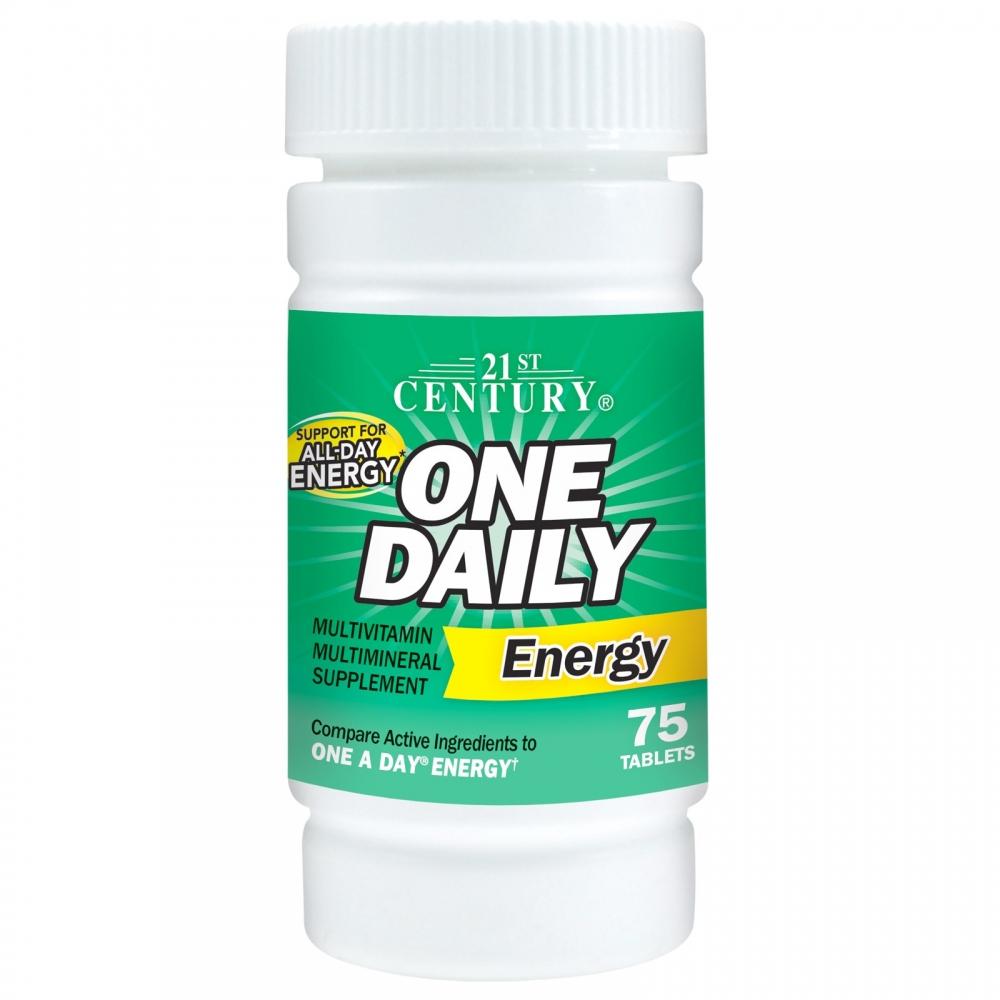 One Daily Energy 21st Century (75 табл)