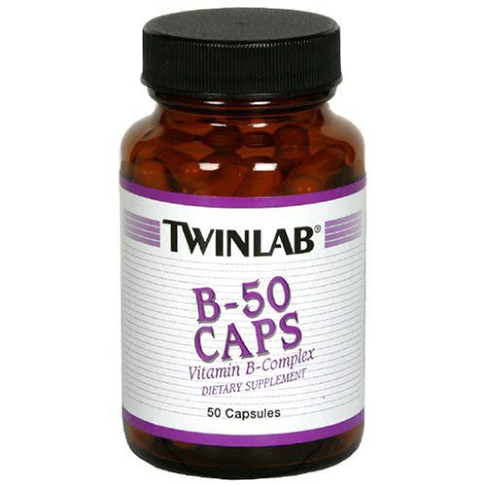 Витамины Vitamin B-50 Caps Twinlab 50 капс