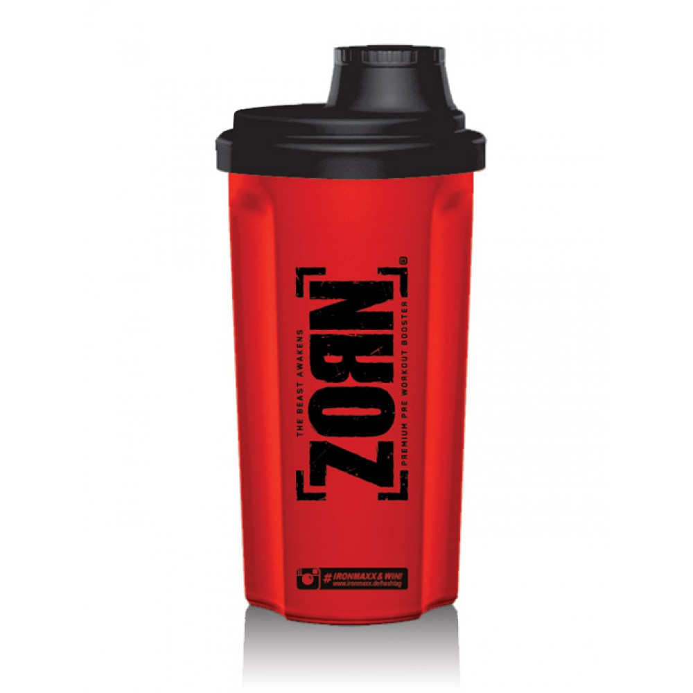Shaker with Sieve Red/Black IronMaxx (700 мл)