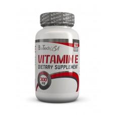 Витамины Vitamin E 300 mg BioTech USA (100 капс.)