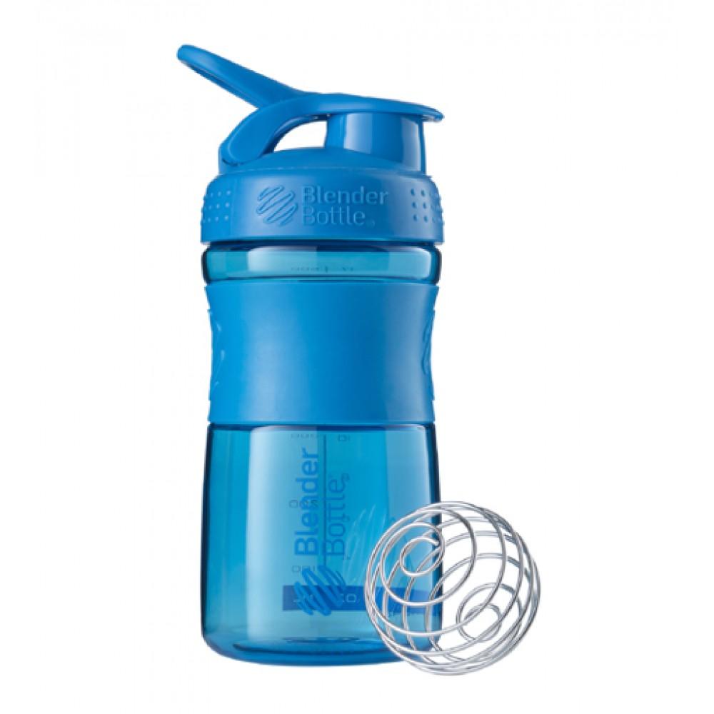 Бутылка Sportmixer Blender Bottle синяя (600 мл)