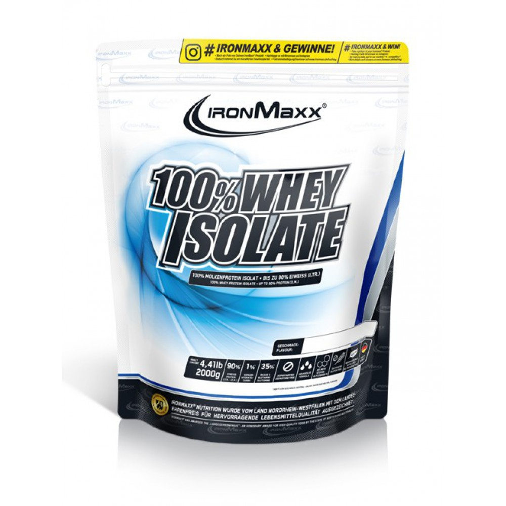 100% Whey Isolate IronMaxx (2000 гр)