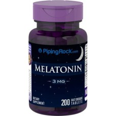 Melatonin 3 mg Piping Rock (200 табл)