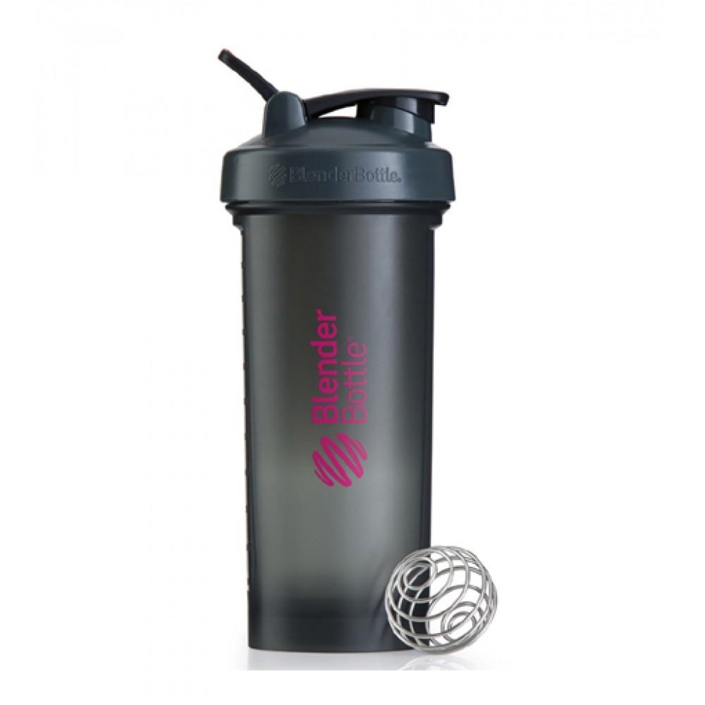 Шейкер Pro45 Blender Bottle серо-розовый (1300 мл)