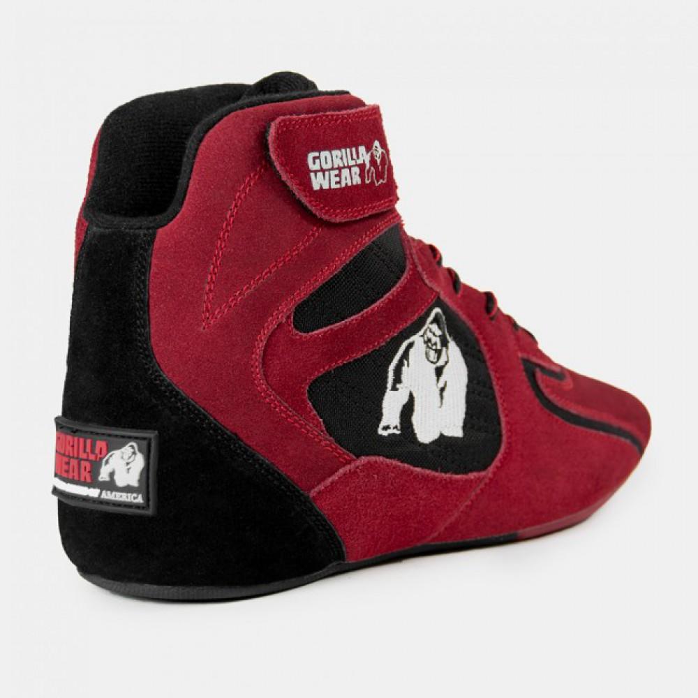 Кроссовки женские Chicago High Tops Red/Black