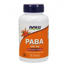 PABA 500 mg NOW (100 капс)