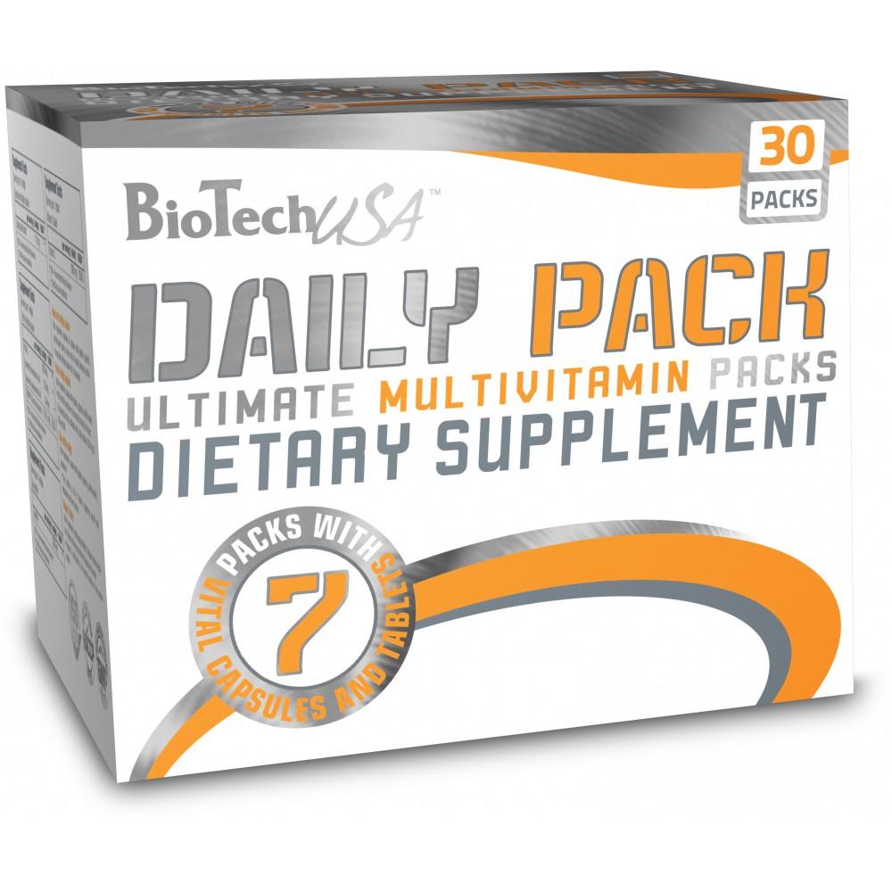 Витамины Daily Pack BioTech USA (30 пак.)