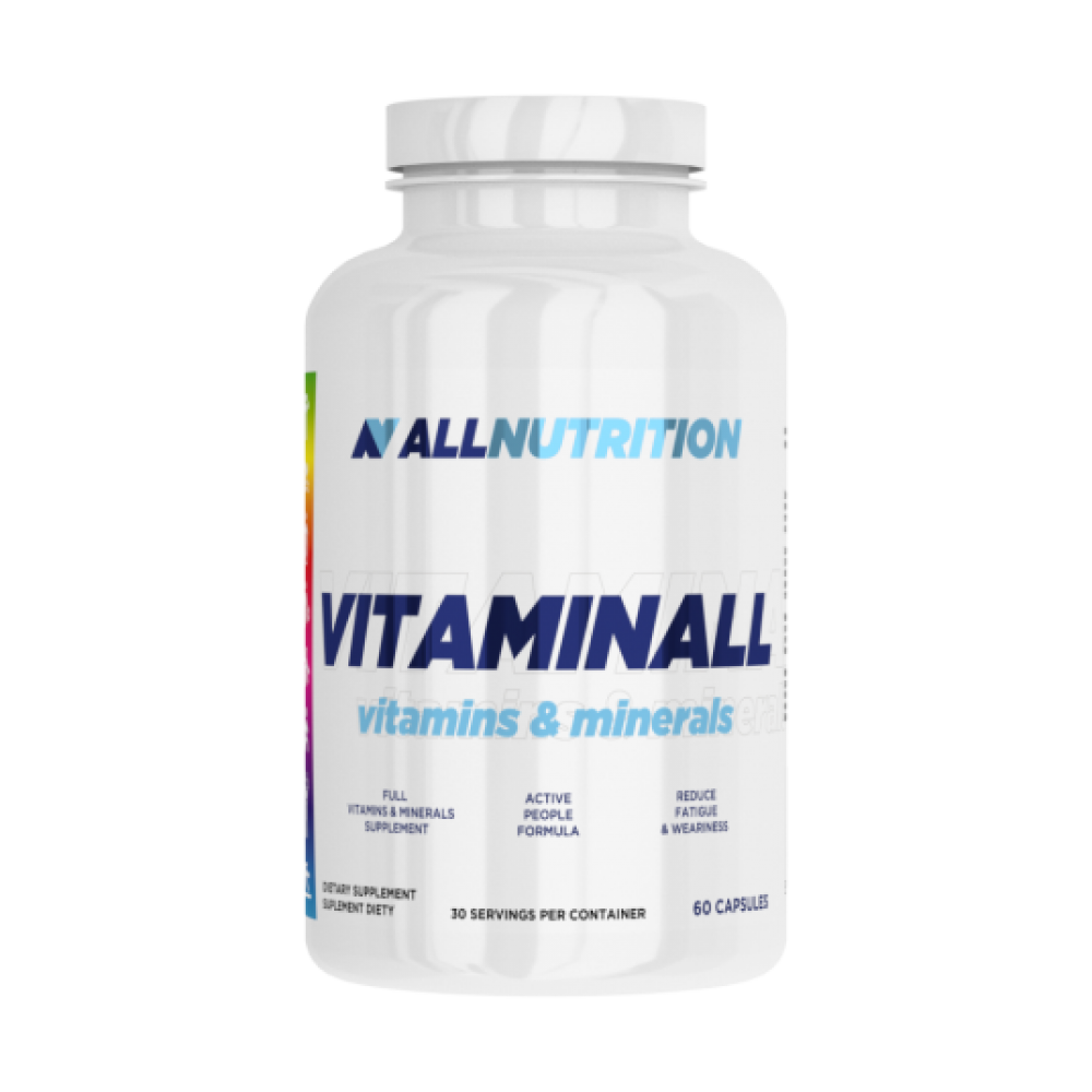 VitaminALL Vitamins & Minerals All Nutrition (60 капс)