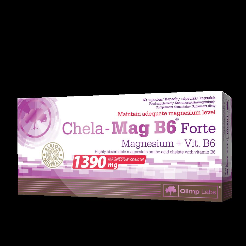 Chela-Mag B6 Forte Olimp Labs (60 капс)