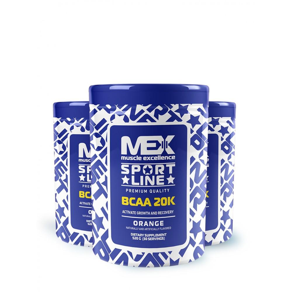 BCAA 20K Mex Nutrition (520 гр)