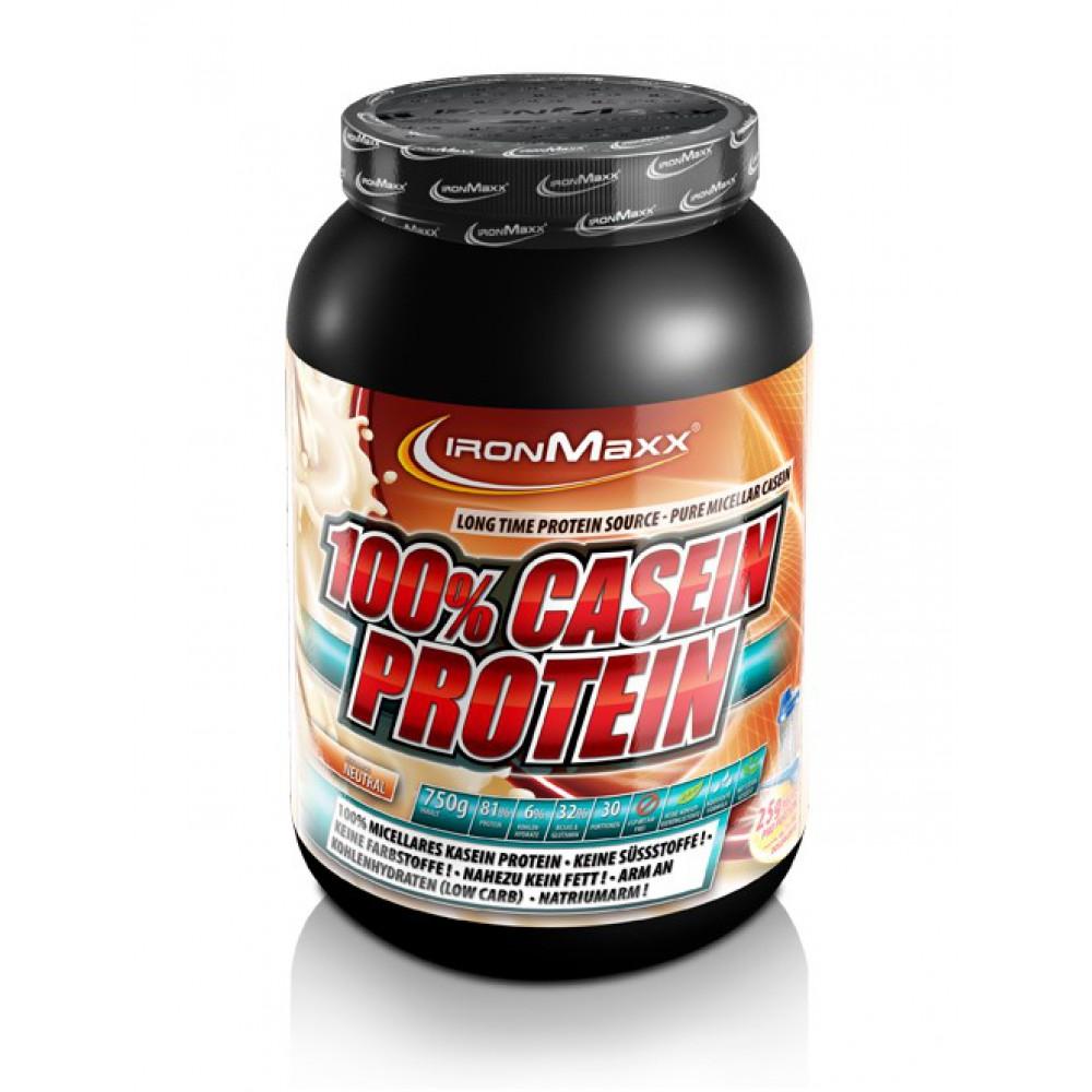 100% Casein Protein IronMaxx (750 гр)