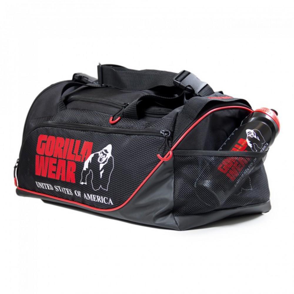 Сумка спортивная Jerome Gym Bag Gorilla Wear Black/Red