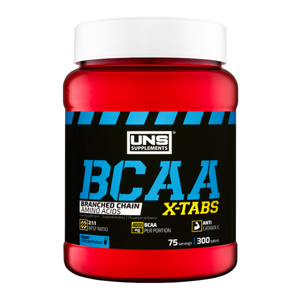 BCAA X-Tabs UNS Supplements (300 табл)