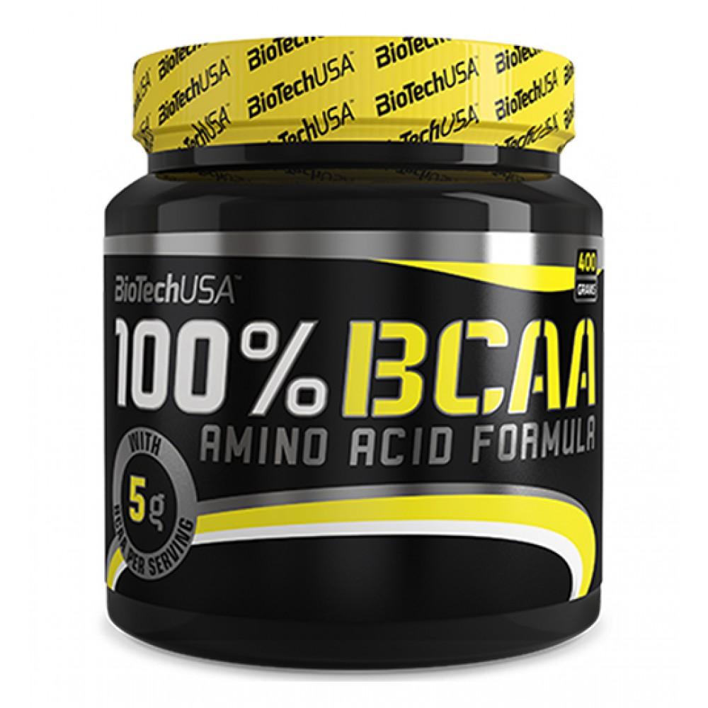 Аминокислоты 100% BCAA 2:1:1 BioTech USA (400 г)