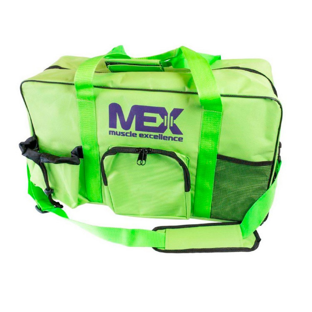 Gym Sports Bag Lime Mex Nutrition