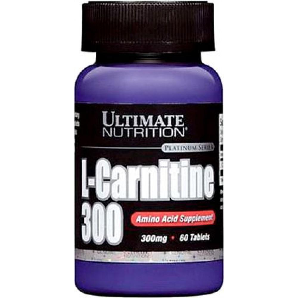 L-carnitine 300 Ultimate Nutrition (60 табл)