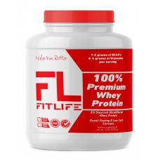 100% Premium Whey Protein FitLife Nutrition (2270 гр)
