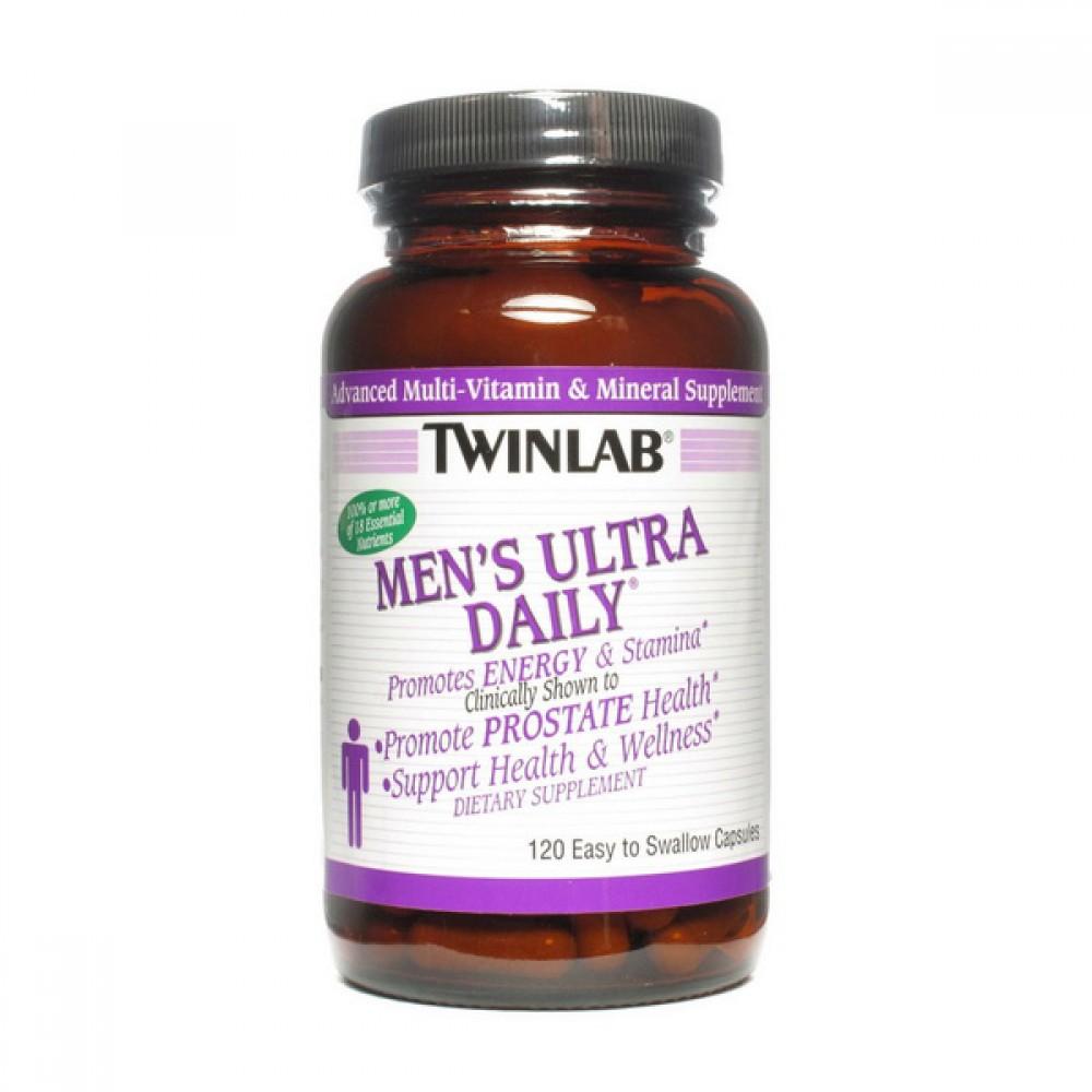 Витамины Men's Ultra Daily Twinlab 120 капс