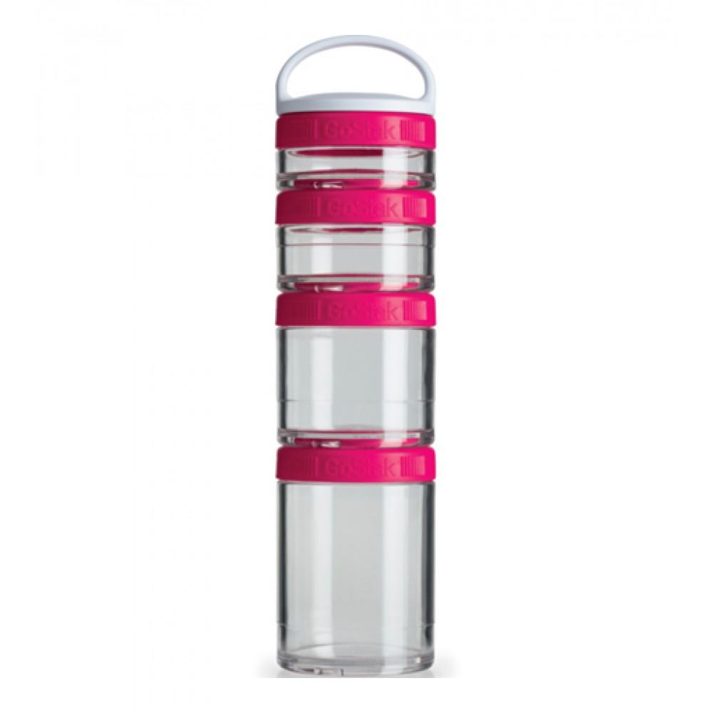Контейнеры GoStak 4 Pak Blender Bottle розовые