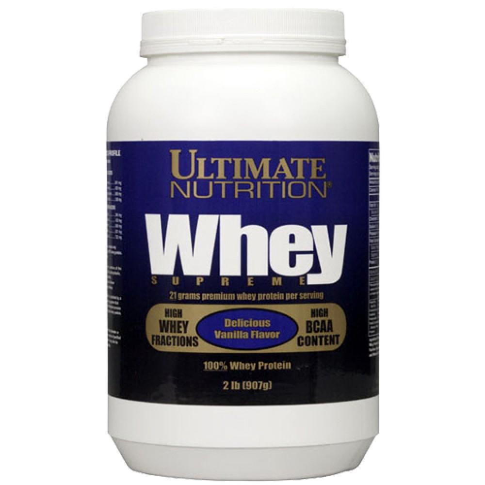 Whey Supreme Ultimate Nutrition (907 гр)