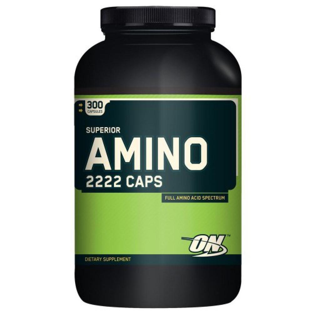 Superior Amino 2222 Caps Optimum Nutrition (300 капс)