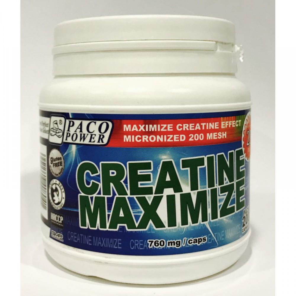 Creatine Maximize Paco Power (200 капс)