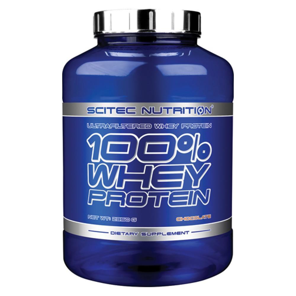 100% Whey Protein Scitec Nutrition (2350 гр)