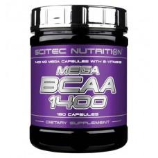 Mega BCAA 1400 Scitec Nutrition (180 капс)