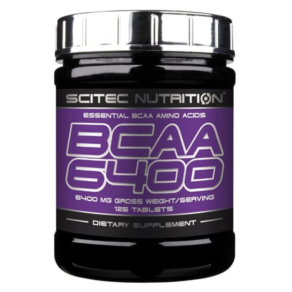 BCAA 6400 Scitec Nutrition (125 табл)
