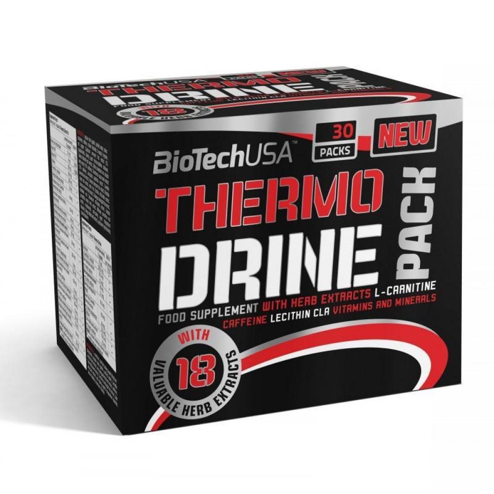 Жиросжигатель Thermo Drine Pack BioTech USA (30 пак.)