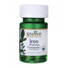 Iron (Ferrous Fumarate) 18 mg Swanson (60 капс)