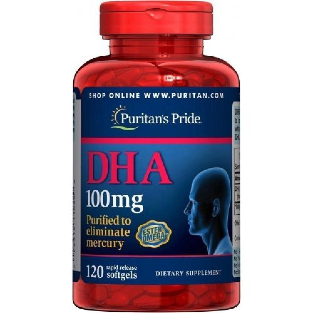 DHA (100 mg) 120 Softgels