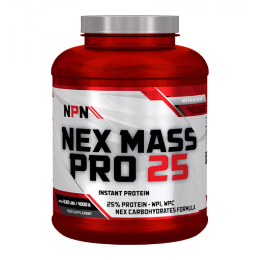 Nex Mass Pro 25 Nex Pro Nutrition (3000 гр)