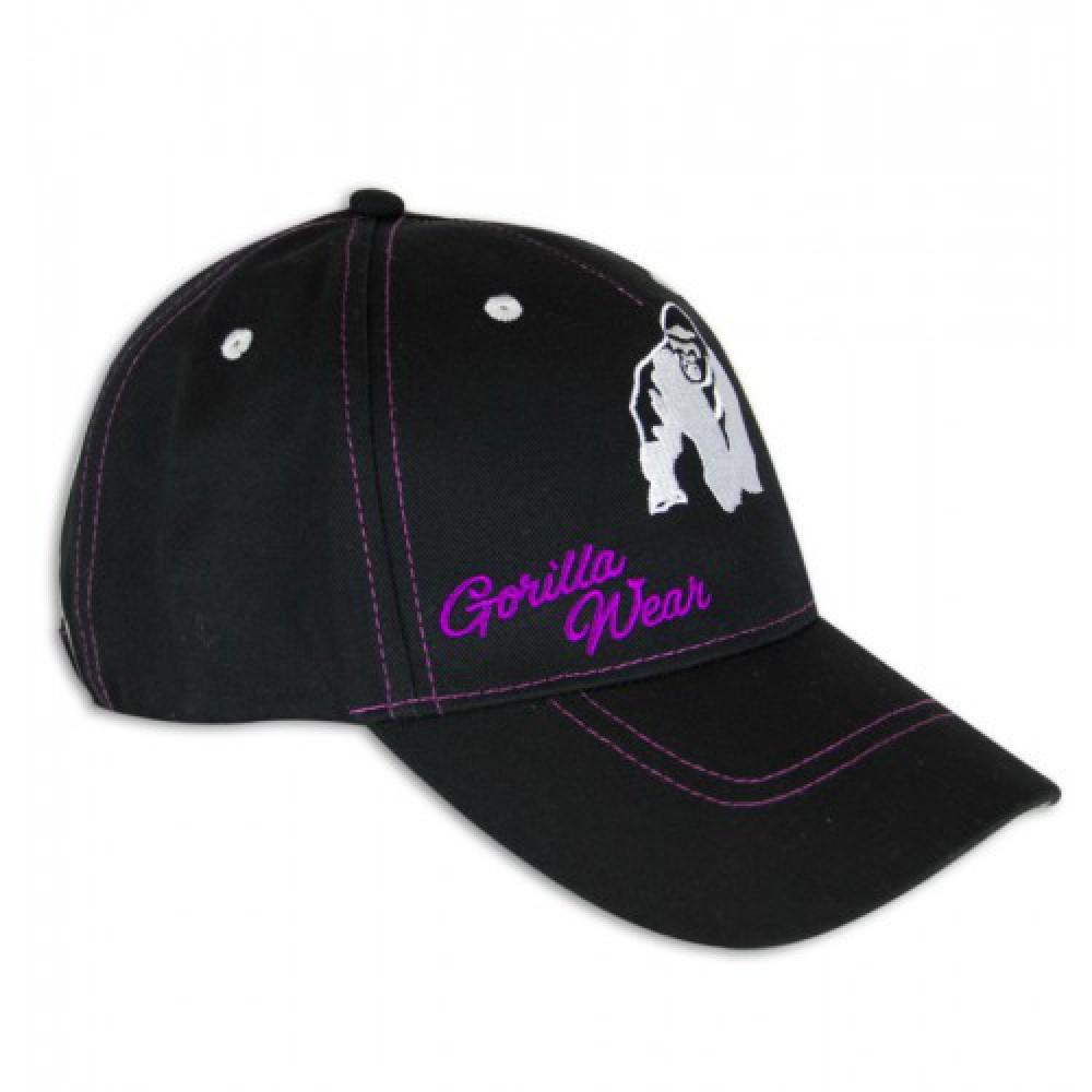 Бейсболка Lady Logo Black Purple