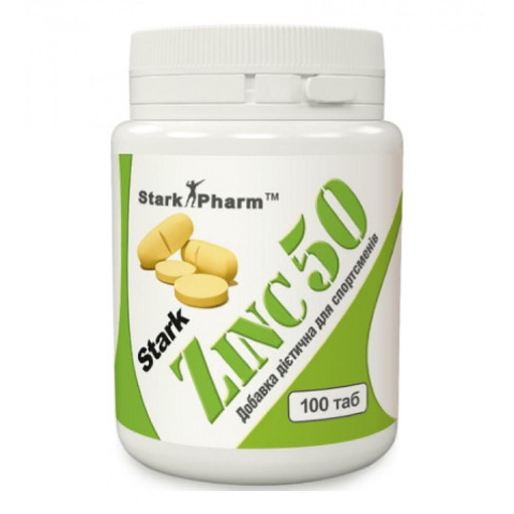 Zinc 50 мг Stark Pharm (100 табл)