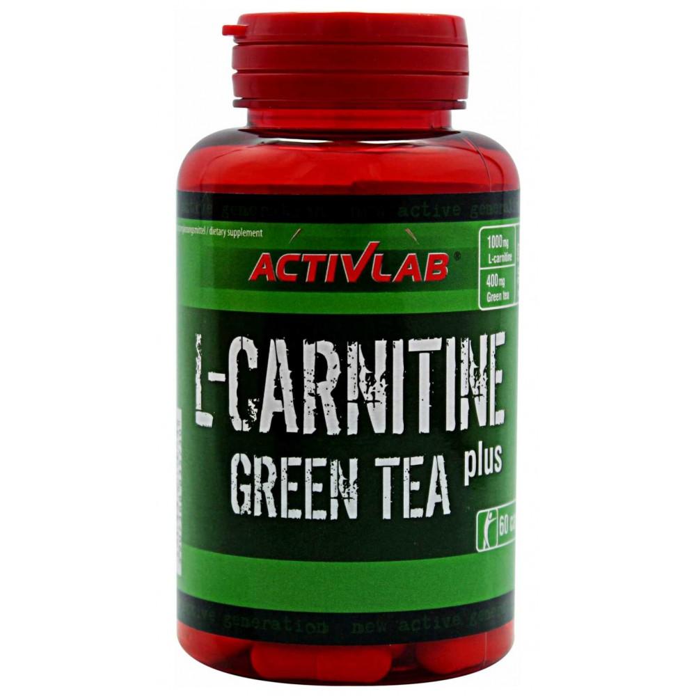 L-карнитин L-Carnitine Green Tea Activlab (60 капс)
