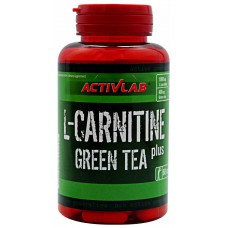 L-карнитин L-Carnitine Green Tea Activlab (60 капс)