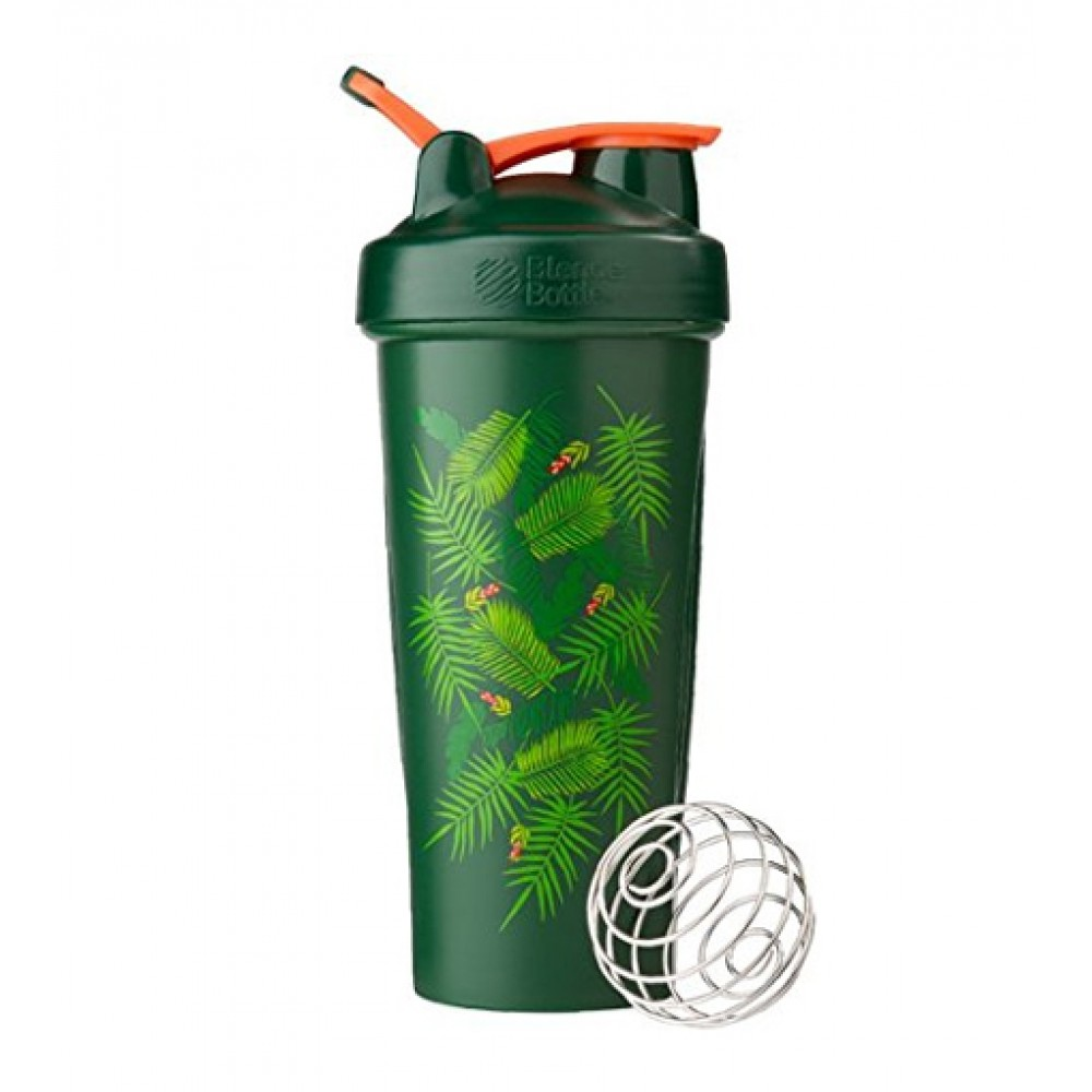 Шейкер Classic Loop Blender Bottle Art Palm Green (820 мл)