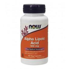 Alpha Lipoic Acid 100 mg NOW (60 капс)